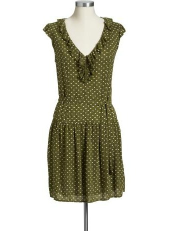 Dot Shirt Dress