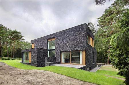 Wooden Architecture Villa