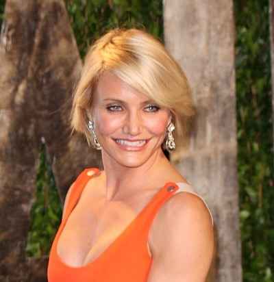Cameron Diaz rocks a sophisticated short hairstyle