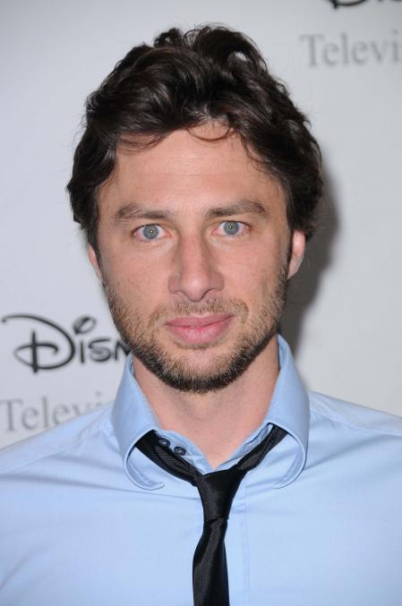 Zach Braff beard