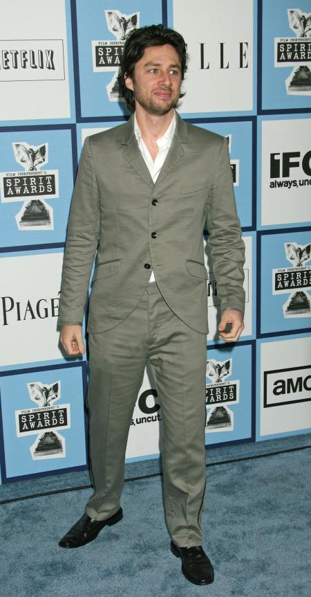 Zach Braff red carpet