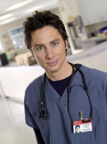 Dr John Dorian (Zach Braff), Scrubs