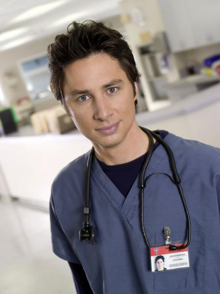 Zach Braff Scrubs still