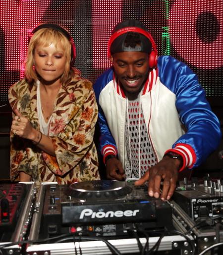 DJ Ruckus & Zoe Kravitz