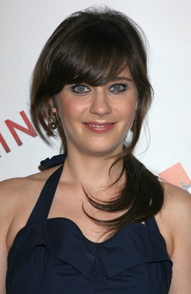 Zooey Deschanel in a halter