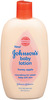 Johnson's Honey Apple Lotion and Wash