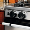 Safety 1st Stainless Steel Stove Knob Covers