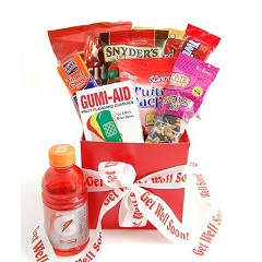 Get Well Soon Snack Care Package Gift Ideas