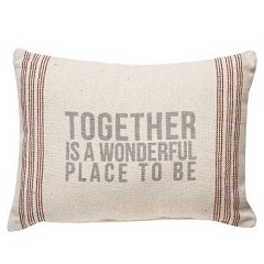 Together Is A Wonderful Place Pillow Gift Ideas