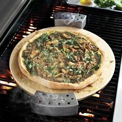 Countertop Pizza Oven Sur La Table : sur la table round glazed cordierite pizza stone 16? brand sur la ...