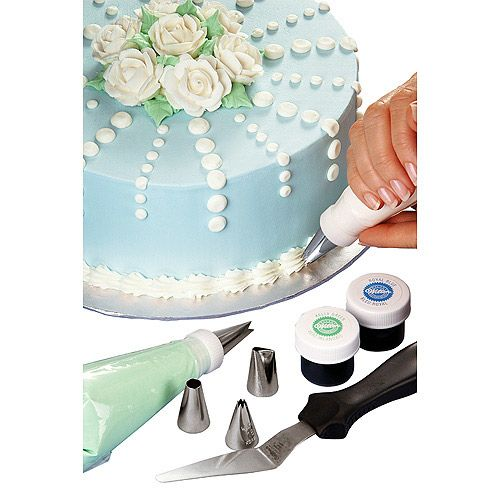 Best Cake Decorating Kit For Beginners : 40 Piece Cake Decorating Set with Caddy - Gift Ideas