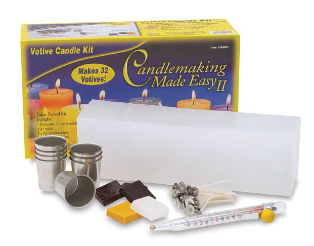 macaron candle making kit instructions
