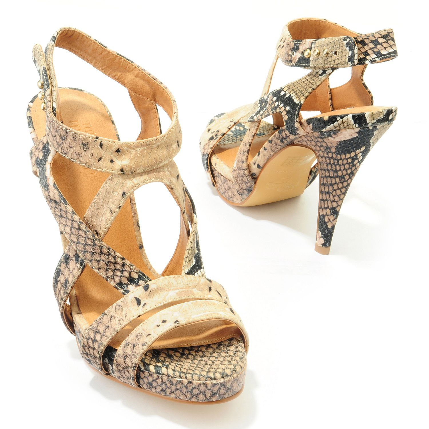 Miss Meghan Snake Print High Heel Sandals Gift Ideas