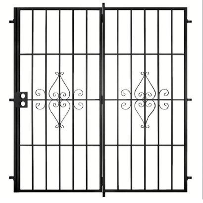 Security screen doors security screen doors home depot - Home depot security gate ...