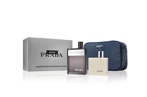 prada amber pour homme intense limited edition gift set. Black Bedroom Furniture Sets. Home Design Ideas