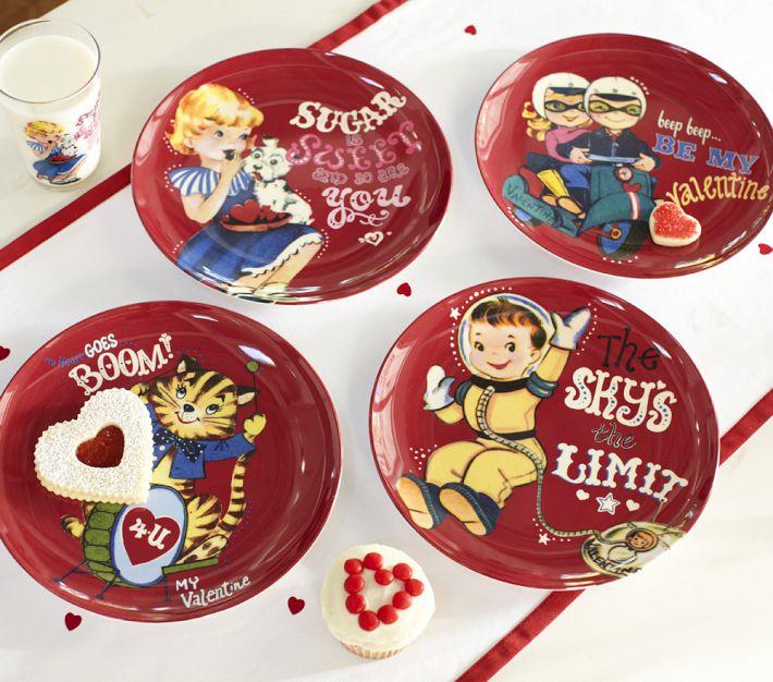 Valentine S Day Plate Set Gift Ideas