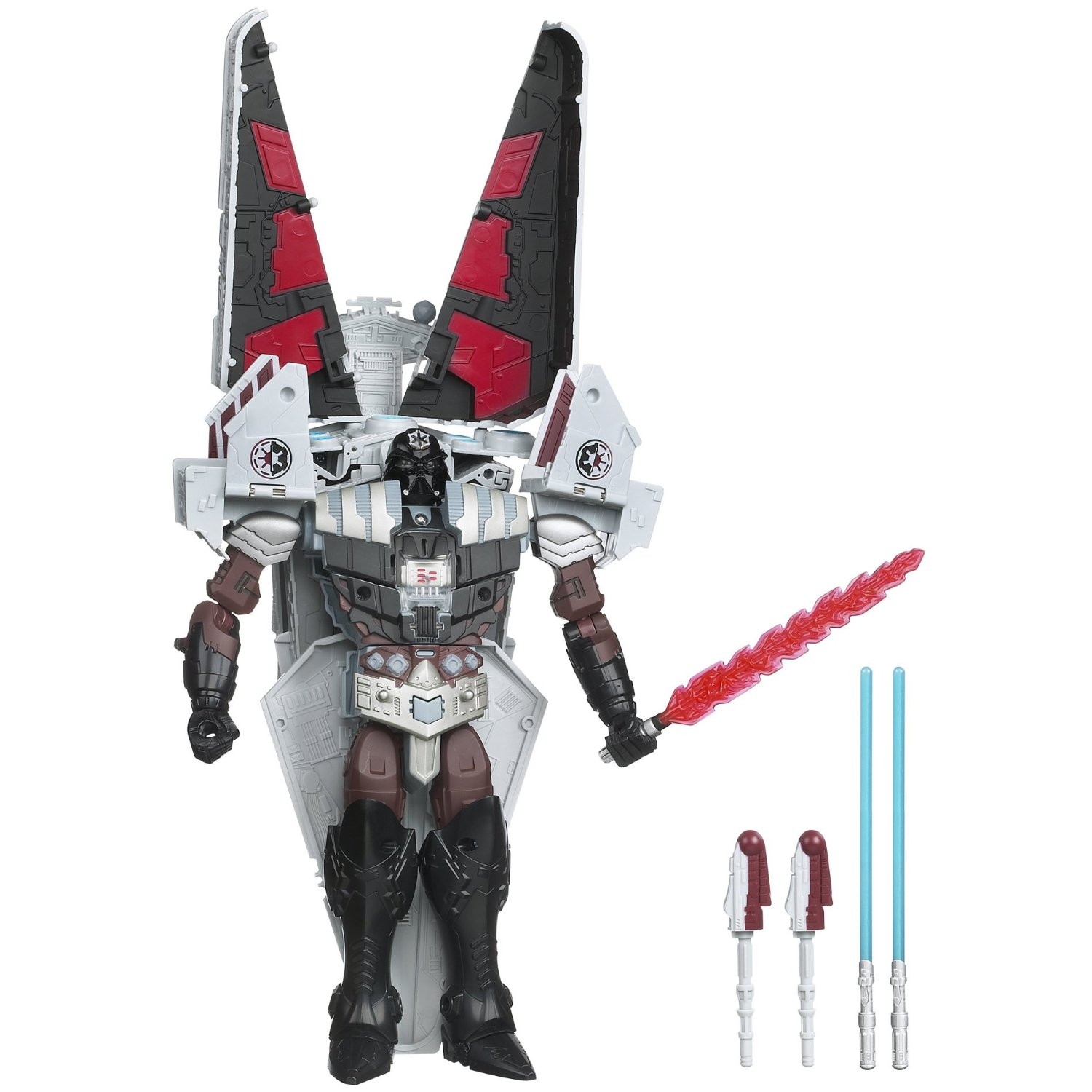 Star Wars Transformers Class Iii Darth Vader To Star