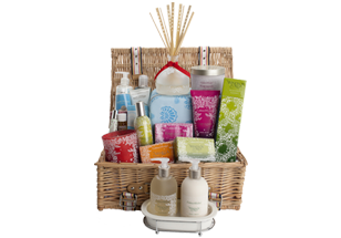 crabtree and evelyn basket