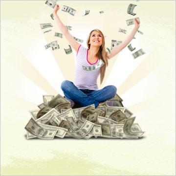 Cash giveaways