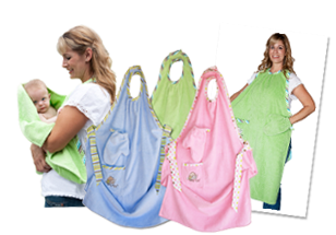 Win A Set Of 3 Stay Dry Bath Aprons