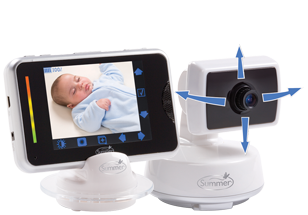 <p>BabyTouch Color Video Baby Monitor from Summer Infant</p>