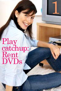 Rent DVDs of a TV series