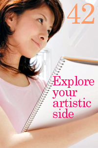 Explore your artistic side