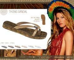 Gisele Bundchen's sandals