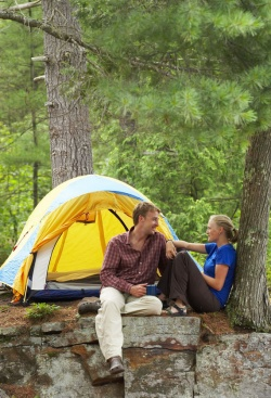 Plan a luxury camping trip