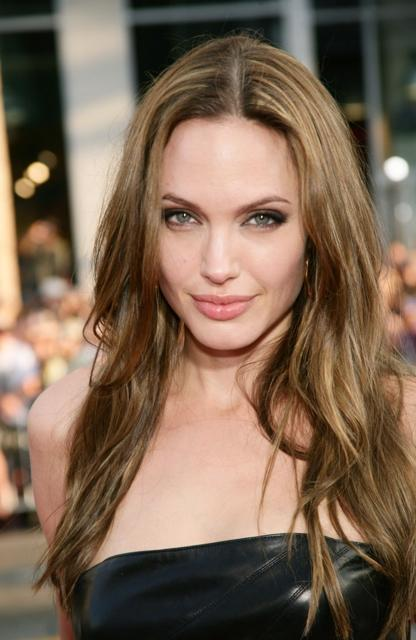 Angelina Jolie's Long Sexy Hairstyle