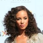 Alicia Keys&#039; Curly Hairstyle