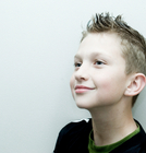 Boys hair - Short, spiky and gelled