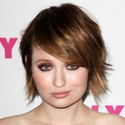 Emily Brownings sexy, short hairstyle