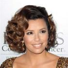 Eva Longoria Parker&#039;s sexy short curly hairstyle