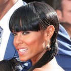Jada Pinkett Smith's ponytail hairstyle