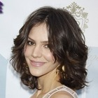 Katharine McPhees gorgeous, brunette hairstyle