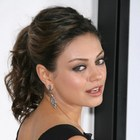 Mila Kunis rocks a ponytail!