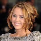 Miley Cyrus' Romantic Updo