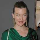 Milla Jovovich?s sleek, updo hairstyle