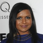 Mindy Kalings sleek, straight hairstyle