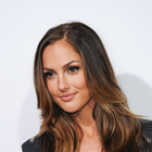Minka Kelly's brunette, wavy hairstyle