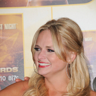 Miranda Lambert's half up, half down hairstyle
