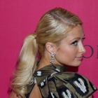 Paris Hilton's blonde, ponytail hairstyle