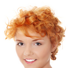 Red hair - Cropped curls