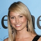 Stacy Keibler?s long, blonde hairstyle