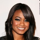 Tatyana Ali's long layered hairstyle