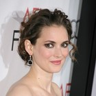 Winona Ryder shines in romantic updo!