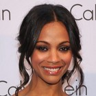 Zoe Saldana?s chignon hairstyle