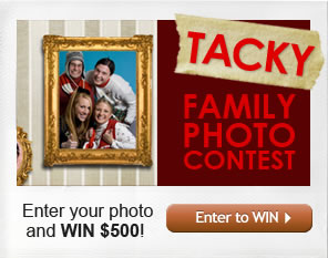 Tacky family photo contest