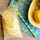 Vodka lemonade juice pouches